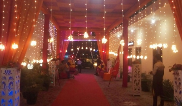 Ganpati Garden Party Lawn Photos in Delhi