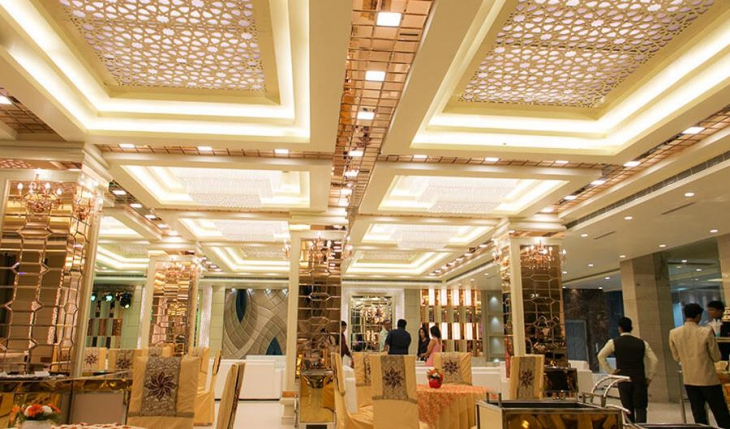 The Grand Parisian Banquet Hall in Delhi Photos