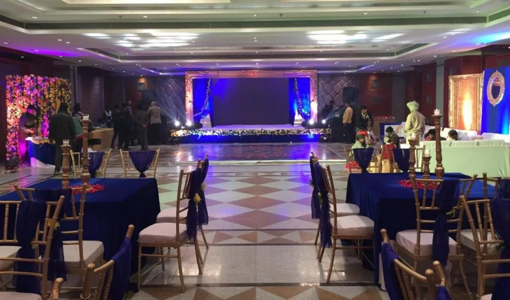 Calista Resort Banquet Hall in Delhi Photos