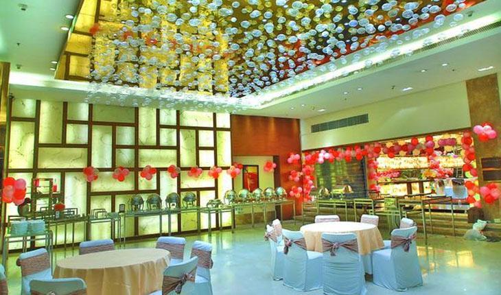 D Imperia Hotel Party Lawn in Delhi Photos