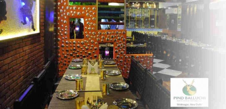 Pind Balluchi Restaurant in Delhi Photos