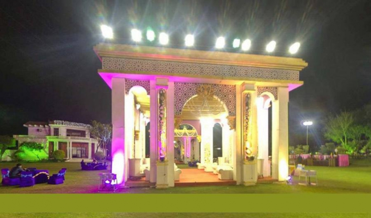 Maple Garden Party Lawn in Delhi Photos