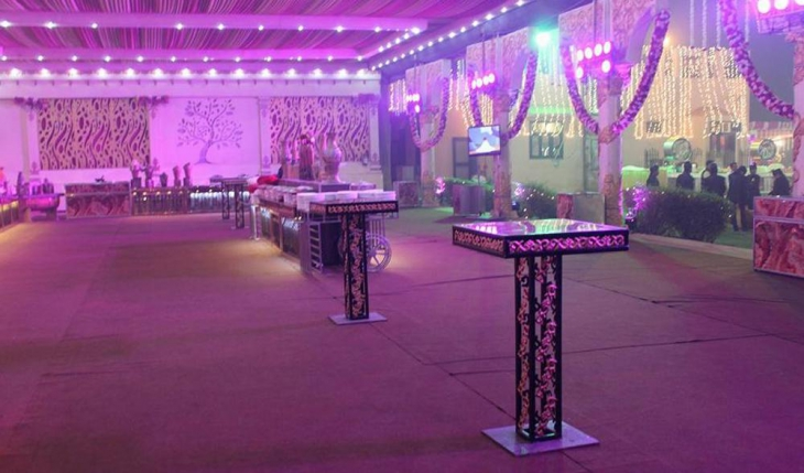 Lavish Party Lawn in Delhi Photos